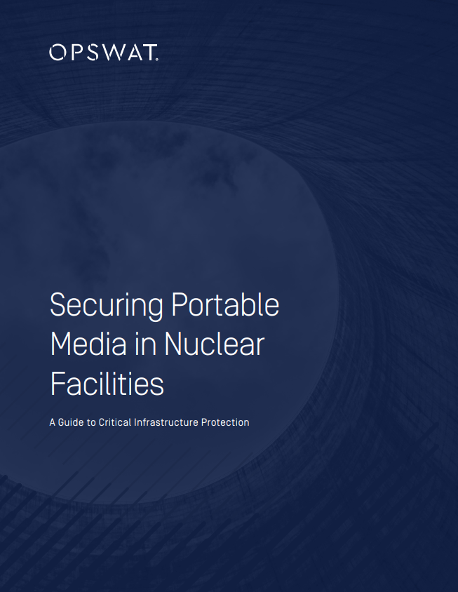 Securing Portable Media in Nuclear Facilities